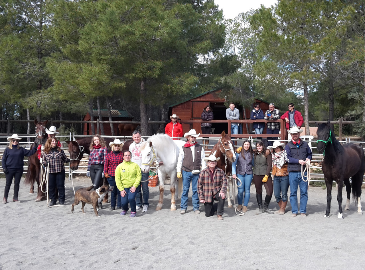 Curso de iniciaci n al horsemanship federaci n h pica de for Curso mantenimiento de piscinas comunidad valenciana