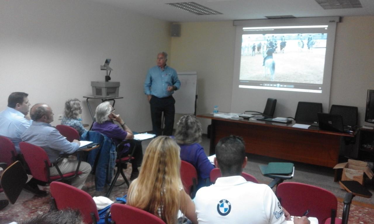 Primer curso jueces autonomicos de doma de alta escuela for Curso mantenimiento de piscinas comunidad valenciana