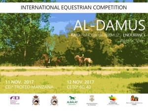"I RAID INTERNACIONAL DEL RINCON DE ADEMUZ: ""Trofeo Manzana de ADEMUZ"" C.o. Club de Raid Albalat Endurance - Ayto. de ADEMUZ"