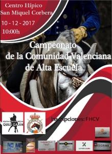 CTO. AUT. C. V. DOMA ALTA ESCUELA – CH Sant Miquel (Corbera)