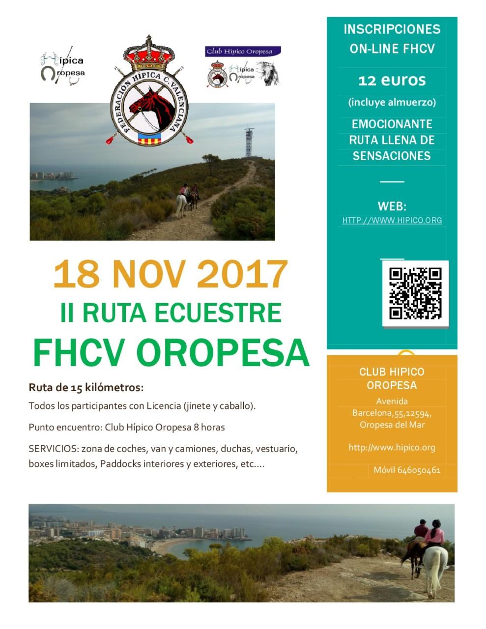 Cartel ruta FHCV Oropesa 2017-001