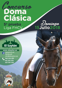 CONCURSO LIGA FHCV DOMA CLASICA - CH EL SAYTON