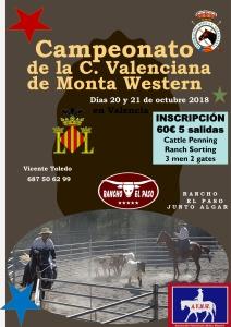 """""""APLAZADO"""" CTO. AUT. MONTA WESTERN C. V., Rancho El Paso (Soneja)"""