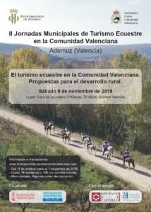 """""""APLAZADO"""" II Jornadas Municipales de Turismo Ecuestre de la C. Valenciana (Ademuz)"""